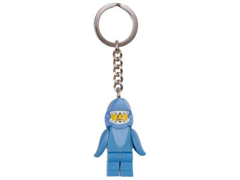 853666 Shark Suit Guy Anahtarlık