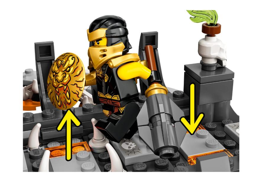 71722 LEGO Ninjago Kafatası Büyücüsü'nün Zindanları