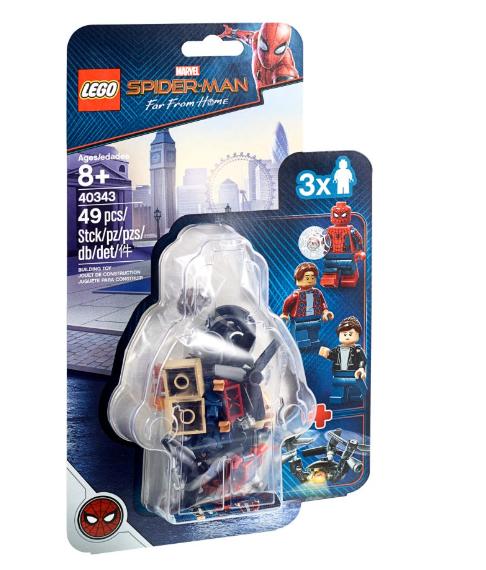 40343 Spider-Man ve Müze Koruması