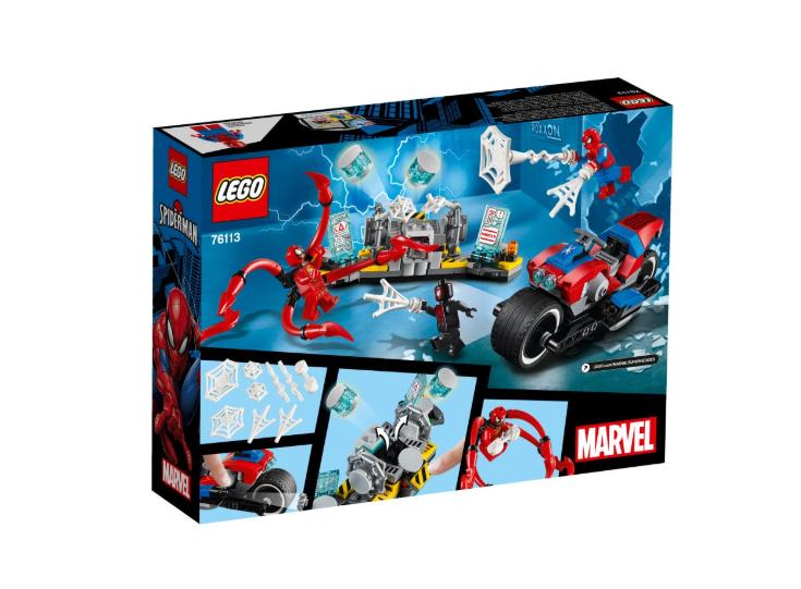 76113 Spider-Man Motosikletli Kurtarma