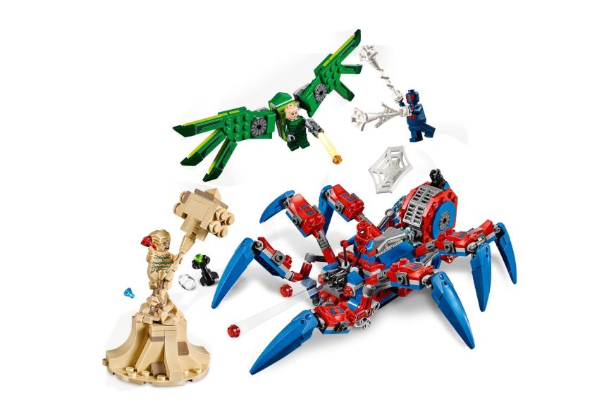 76114 Spider-Man'in Örümcek Aracı