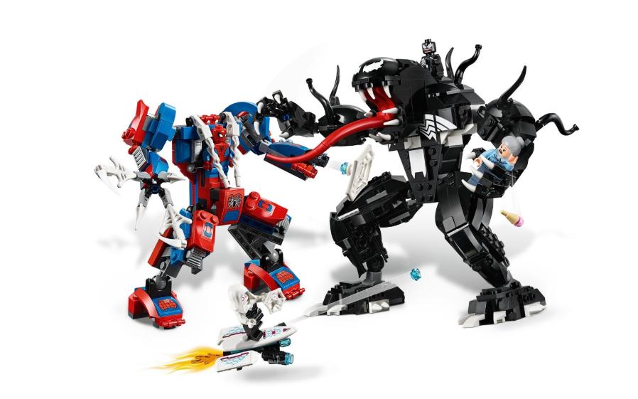 76115 Örümcek Robotu Venom'a Karşı