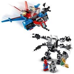 76150 LEGO Super Heroes Spiderjet, Venom Robotu'na Karşı - Thumbnail