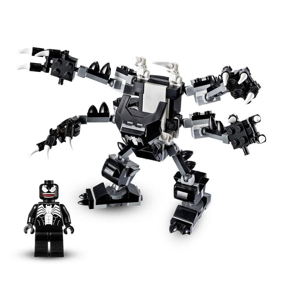 76150 LEGO Super Heroes Spiderjet, Venom Robotu'na Karşı