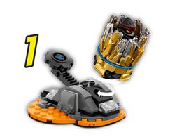 70685 LEGO Ninjago Spinjitzu Patlaması - Cole - Thumbnail