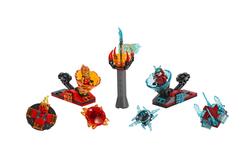 LEGO - 70684 Spinjitzu Çarpışması - Kai Samuraya Karşı