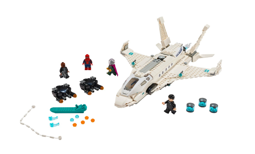 76130 Stark Jet and the Drone Attack