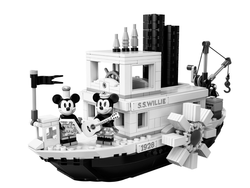 LEGO - 21317 Steamboat Willie