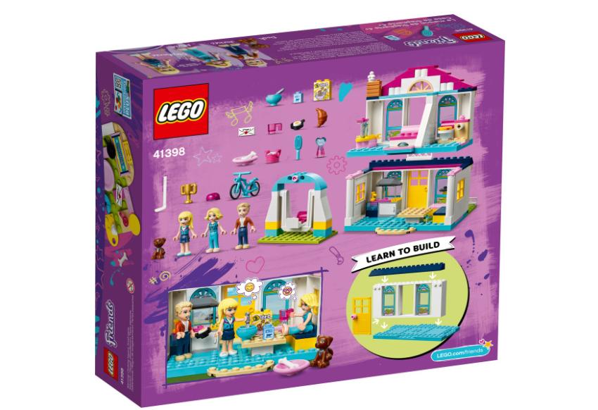 41398 LEGO Friends 4+ Stephanie'nin Evi