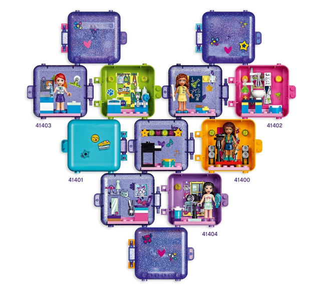 41401 Stephanie's Play Cube