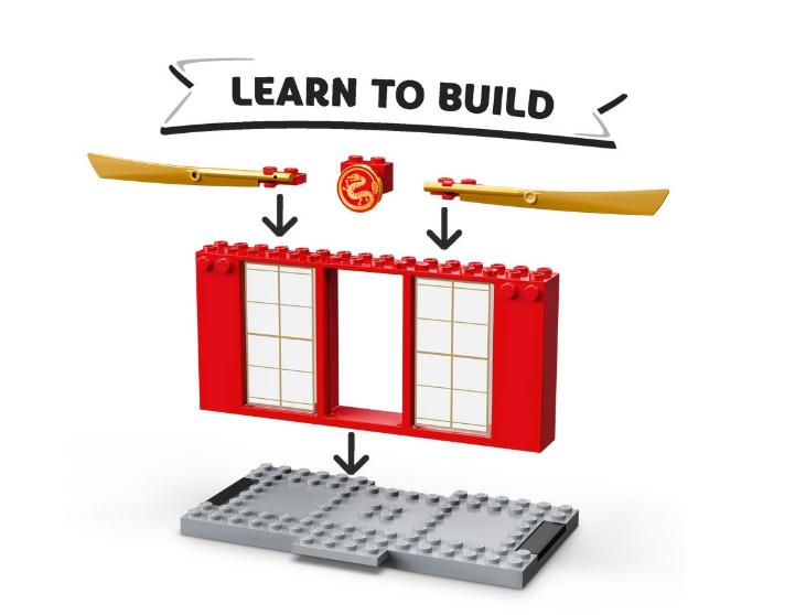 71703 LEGO Ninjago Fırtına Uçağı Savaşı