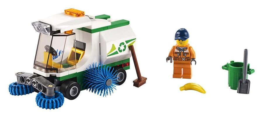 60249 LEGO City Sokak Süpürme Aracı