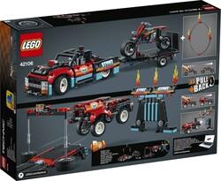 42106 LEGO Technic Gösteri Kamyoneti ve Motosikleti - Thumbnail