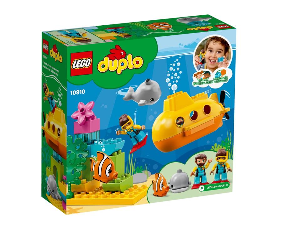 10910 LEGO DUPLO Town Denizaltı Macerası