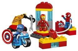 LEGO - 10921 LEGO DUPLO Super Heroes Süper Kahraman Laboratuvarı