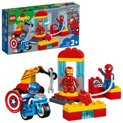 10921 LEGO DUPLO Super Heroes Süper Kahraman Laboratuvarı - Thumbnail