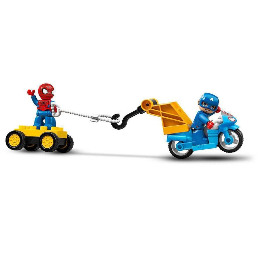 10921 LEGO DUPLO Super Heroes Süper Kahraman Laboratuvarı