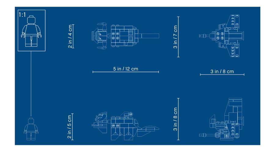 75265 T-16 Skyhopper™ ve Bantha™ Mikro Savaşçılar