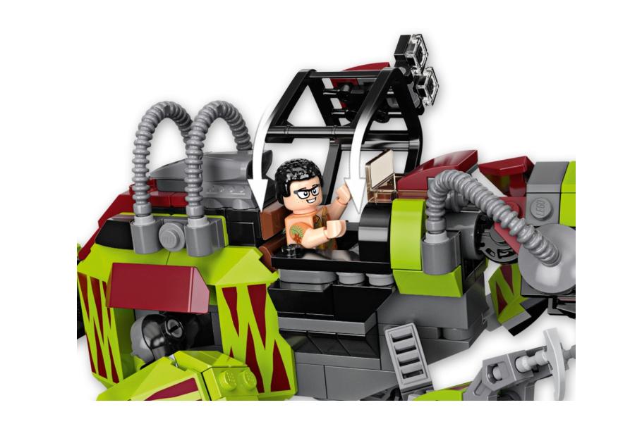 75938 T-Rex ile Dinazor Robotu Savaşı