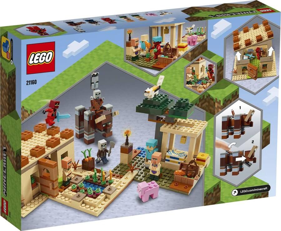 21160 LEGO Minecraft Illager Saldırısı