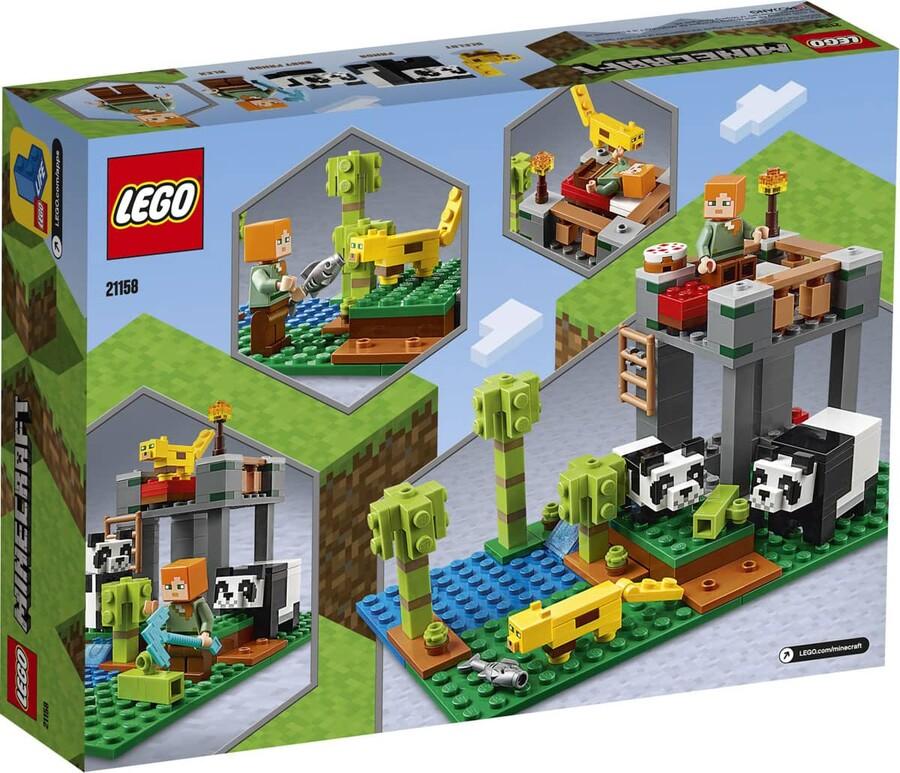 21158 LEGO Minecraft Panda Yuvası