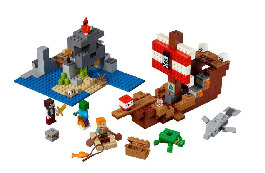 21152 LEGO Minecraft Korsan Gemisi Macerası