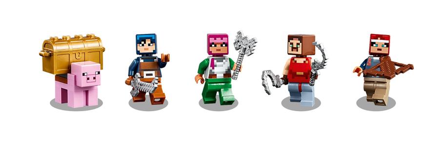 21163 LEGO Minecraft Kızıltaş Savaşı