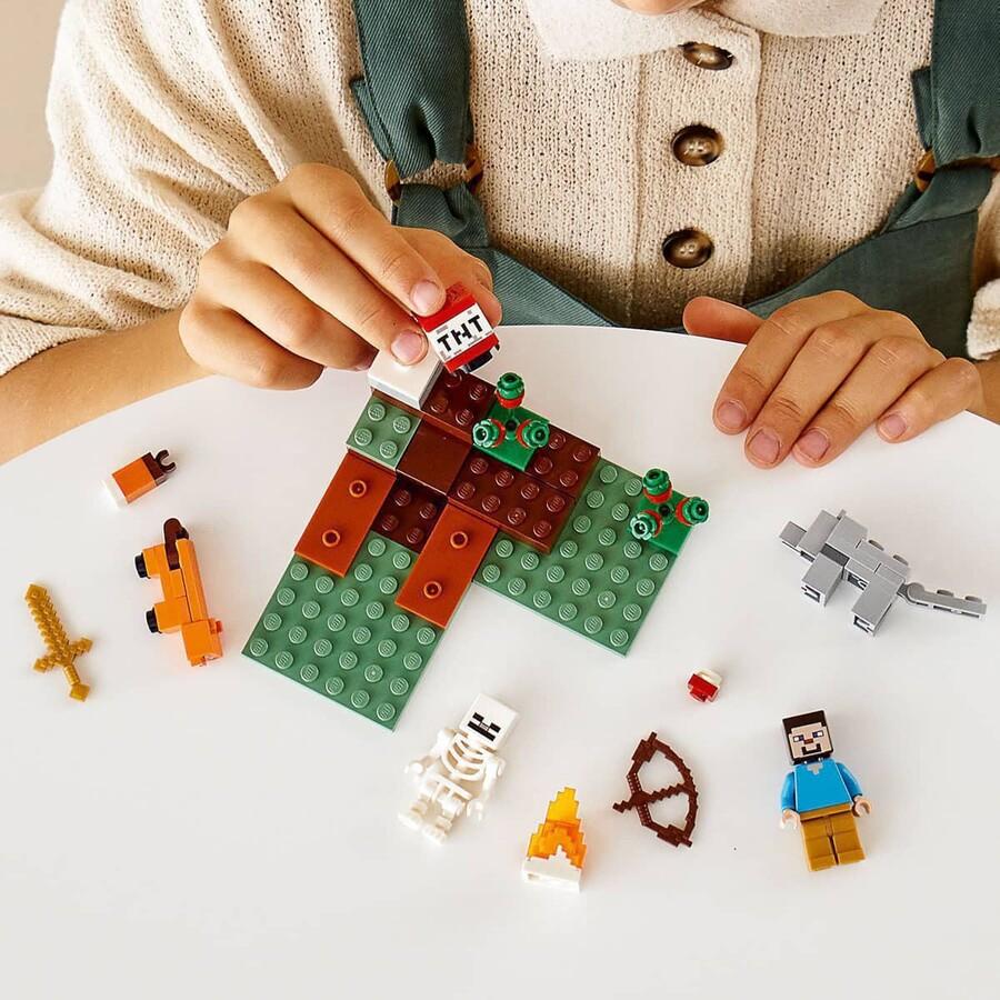 21162 LEGO Minecraft Taiga Macerası