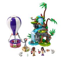 LEGO - 41423 LEGO Friends Sıcak Hava Balonuyla Kaplan Kurtarma Operasyonu