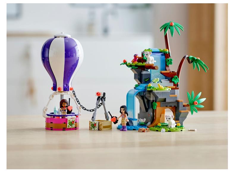 41423 LEGO Friends Sıcak Hava Balonuyla Kaplan Kurtarma Operasyonu