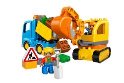 LEGO - 10812 Truck & Tracked Excavator V29