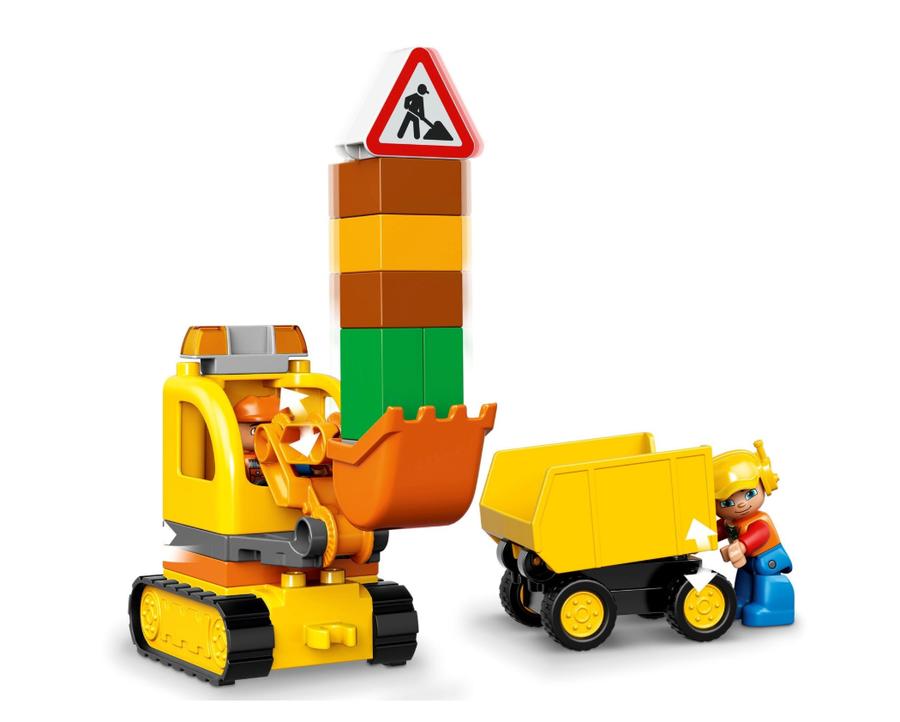 10812 Truck & Tracked Excavator V29