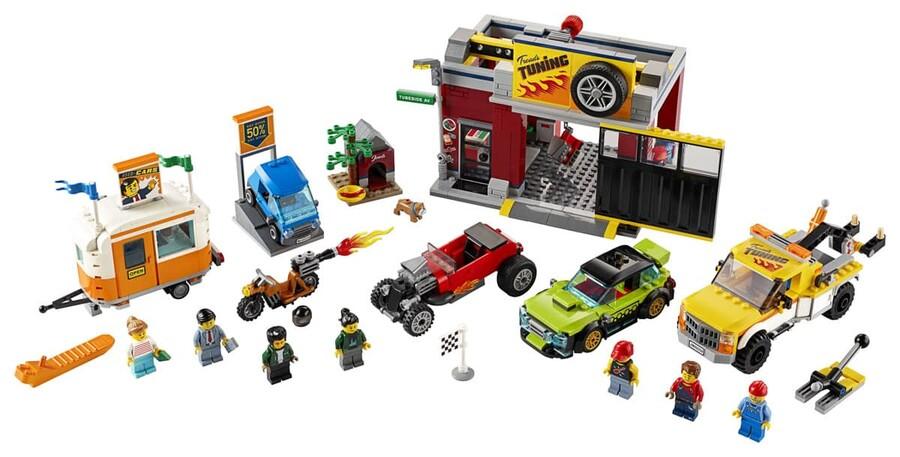 60258 LEGO City Oto Aksesuar Atölyesi
