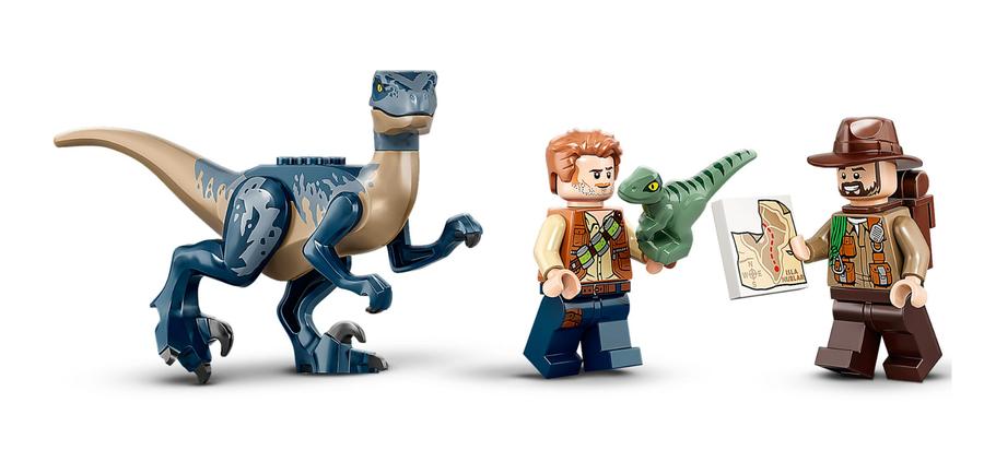 75942 LEGO Jurassic World Velociraptor: Uçakla Kurtarma Görevi