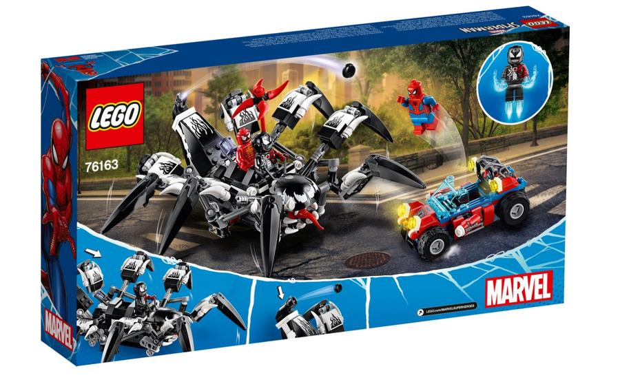 76163 LEGO Super Heroes Venom'un Yürüyen Aracı