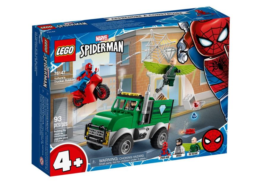 76147 Spider-Man Vulture'ın Kamyoncu Soygunu