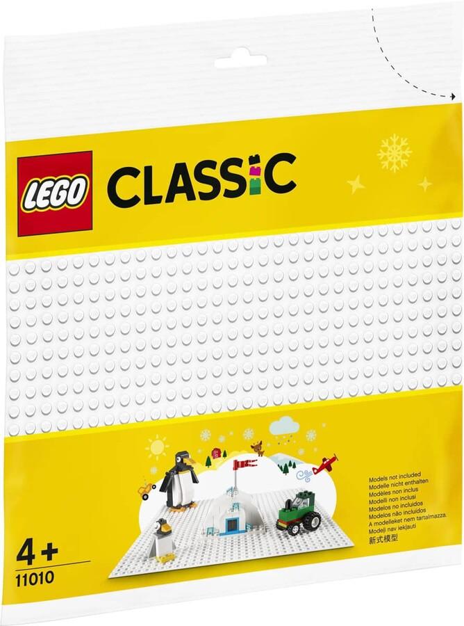 11010 LEGO Classic Beyaz Zemin