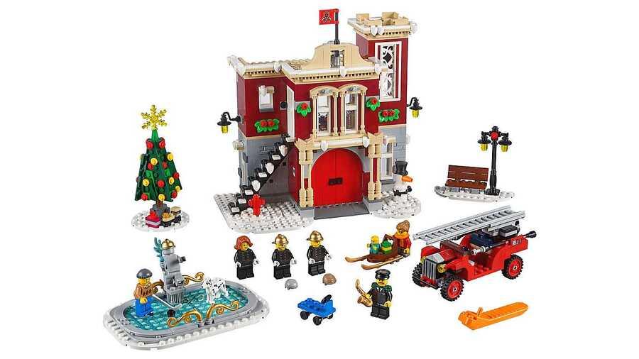 10263 Winter Village Fire Station