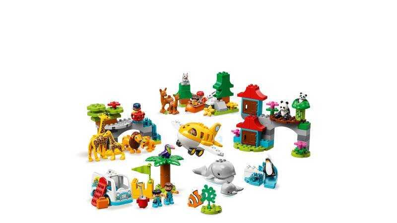 10907 LEGO DUPLO Town Dünya Hayvanları