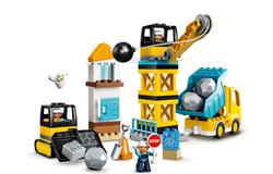 LEGO - 10932 LEGO DUPLO Town İnşaat Yıkım Aracı