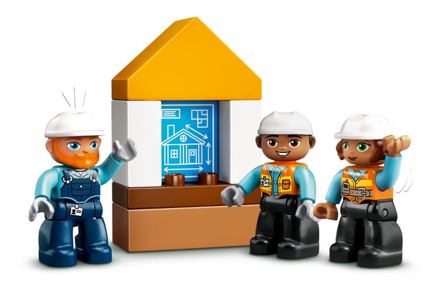 10932 LEGO DUPLO Town İnşaat Yıkım Aracı