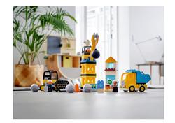 10932 LEGO DUPLO Town İnşaat Yıkım Aracı - Thumbnail