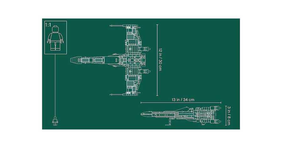 75218 X-Wing Starfighter™ V29